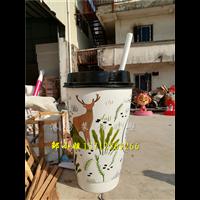奶茶店專用仿真杯子玻璃鋼雕塑玻璃鋼雕塑價格