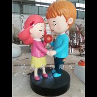 定制立体福禄寿ip吉祥物玻璃钢寿星公婆卡通雕塑