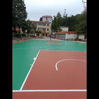 苏州硅PU篮球场地