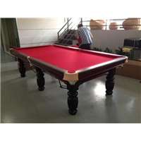 苏州美式黑8台球桌