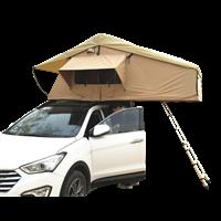 北京车顶帐篷软顶车载帐篷双门双窗