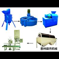 新型复合肥生产线工作原理