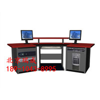 非编台非线性编辑台广播播音电视台编辑台操作台控制台电脑桌2米