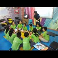 新疆专业中小学英语培训辅导机构上课风采