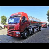 一汽青岛解放悍v前四后六铝合金油罐车加入黑龙江成品油运输团队