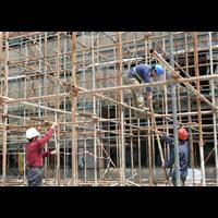 横沥专业搭铁架搭招牌架脚手架工程