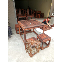 广西红木家具四方桌系列 13