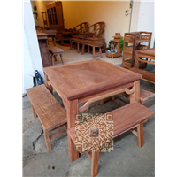 广西红木家具四方桌系列 14