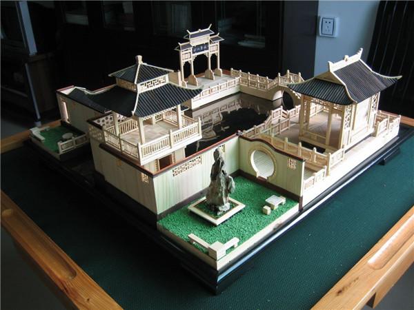 新疆古建模型