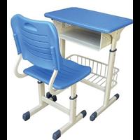 塑钢课桌椅  机械升降课桌椅生产厂家