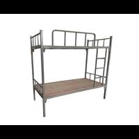 学生宿舍床  上下铁架床组成和常规尺寸
