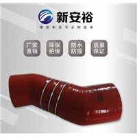 包头彩色硅胶管弯头供应商