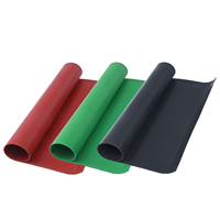 工业用黑色绝缘橡胶板 1-10mm厚工业橡胶板 防静电橡胶垫板