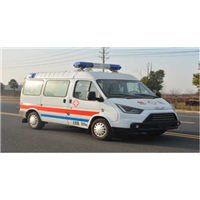 江鈴特順短軸汽油救護車
