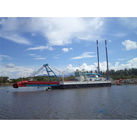 沿海清淤吹填船