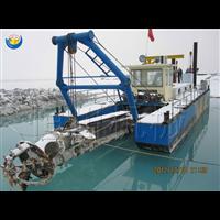 绞吸式航道疏浚船