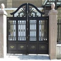 别墅围墙护栏通辽市科尔沁区欧式别墅大门定制设计