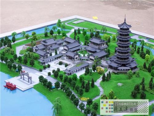秦皇�u建筑模型