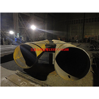 三亚圆管拉弯厂家,能够冷弯800*400断面的工字钢