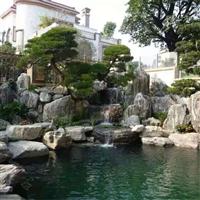 上海小区点缀石 花园装饰石 泰山石小型吨位石