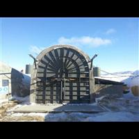 斜井防爆门,自复式防爆门在矿井中应用