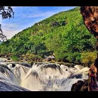 贵州旅游包车-银链坠潭瀑布