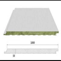 新疆新型防火岩棉墙面夹芯板