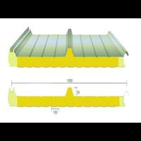 新疆新型防火玻璃丝棉屋面夹芯板