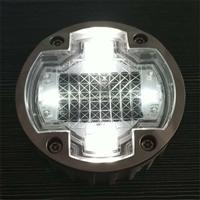 水晶透明太阳能LED玻璃景观装饰灯地埋灯