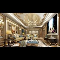 新疆法式别墅装修设计