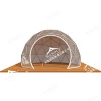全透明15米球形篷房 车展活动演出圆形帐篷 施工便捷