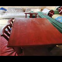 盘锦防腐木休闲桌椅