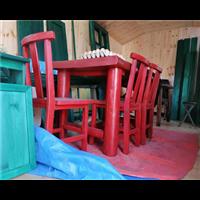 盘锦防腐木桌椅