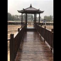 蚌埠防腐木凉亭2