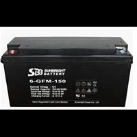 圣豹蓄电池12V150AH SBB蓄电池6-GFM-150