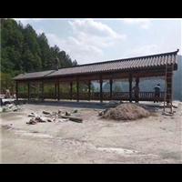 台州防腐木长廊1