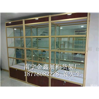 南宁玻璃货架定制价格
