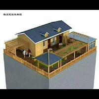 通州防腐木木屋