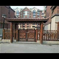 通州防腐木护栏1235