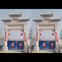 恒旺石雕湖北专业石牌坊生产厂家