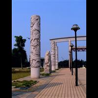 恒旺石雕湖南专业龙柱生产厂家