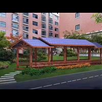 台州防腐木长廊