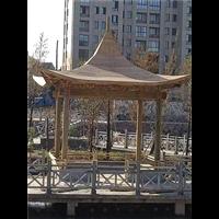 台州防腐木凉亭