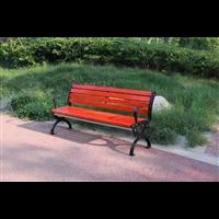 台州防腐木公园椅