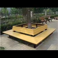 台州防腐木公园座椅