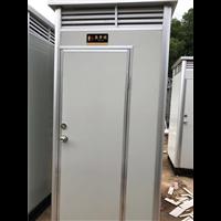单体直排水冲移动厕所