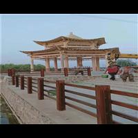 湖南防腐木凉亭12