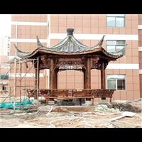 长沙防腐木凉亭15