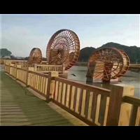 长沙防腐木水车11