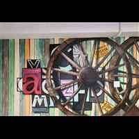 承接襄阳襄城区酒店餐厅墙绘彩绘……